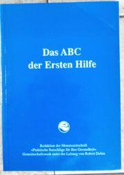 Das ABC der ersten Hilfe
