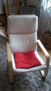 IKEA Pello Schwing-Sessel und IKEA