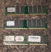 3 X 512 MB Arbeitsspeicher