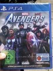 PS4 MARVEL AVENGERS NEU -Eingeschweißt