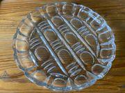Servierplatte Glas verschiedene