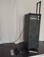 Portables Karaoke Soundsystem IBIZA PORT-8-DVD