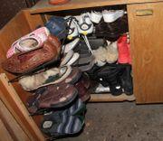 Nicht mehr benötige Schuhe sinnvoll