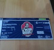 2 Tickets Peter Kraus Ravensburg