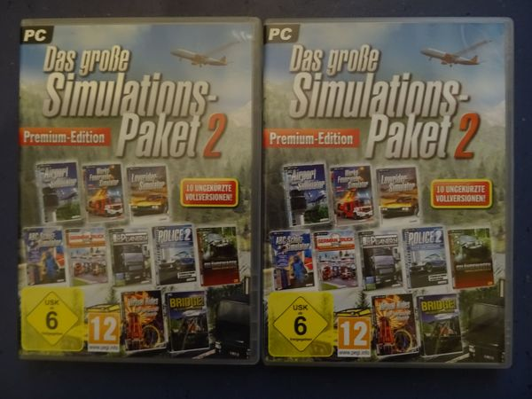 Inkl Versand Das große Simulations-Paket