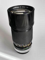 Canon Fd 200mm 1 2