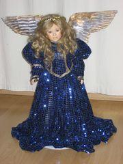 Engel Puppe aus Porzellan von