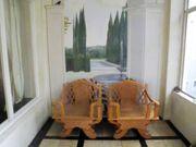 2 schöne grosse asiatische Sessel