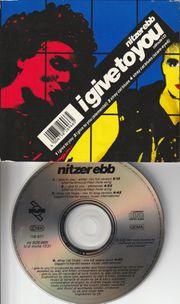 EBM MAXI CD - Nitzer Ebb -