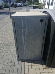 Beton Mülltonnenbox Beton Container Aufbewahrungsbox