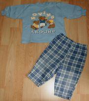 SET - Blaues Sweatshirt Hose - Größe 68