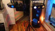 DJ-Paket mit Nebelmaschine und Sony
