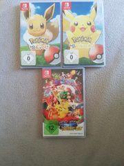 3 Pokemon Spiele für die