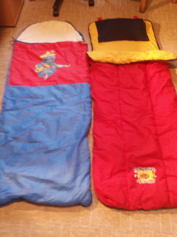 2 Kinderschlafsäcke