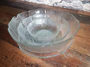 Glasschalen Salatschüsseln