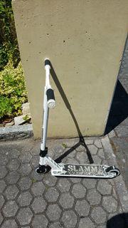 SLAMM Scooter Schwarz weiß