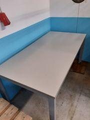 BÜROTISCH Arbeitstisch Tisch grau L