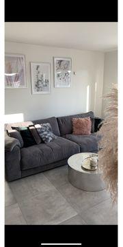 Big Couch grau