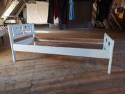 Kinderbett KRITTER mit Lattenrost weiß