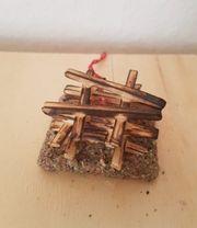 Feuerstelle für Krippen