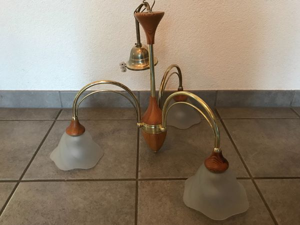 3er Hänge-Lampe Deckenlampe Hänge-Leuchte Deckenleuchte