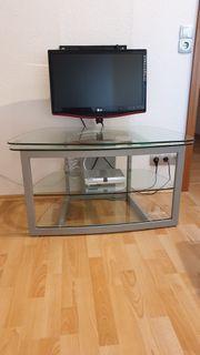 Schönes Glas-TV-Board