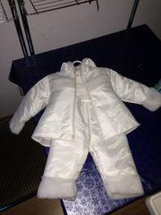 Taufanzug für Winter Gr 68