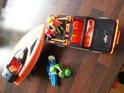 Playmobil Jeep Boot im Set