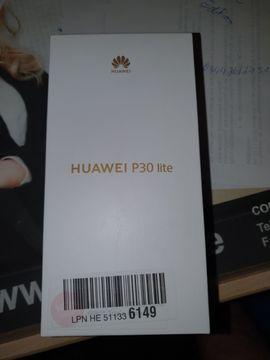 Huawei p30 Lite New Edition Neu 256 GB OVP, orig. verpackt +Zubehör, Breathing Crystal, Handyhülle