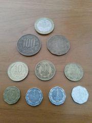 alte Chilenische Münzen