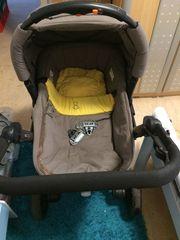 3in1 Kinderwagen von Geburt an
