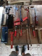 Alte verschiedene Werkzeuge