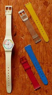 SWATCH Lady Red Wave LW121
