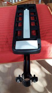 Fahrrad-Gepäckträger für Montage an Sattelstütze