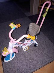 Baby born Fahrrad mit Helm