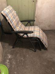 2 Liegestuhl inklusive Kissen