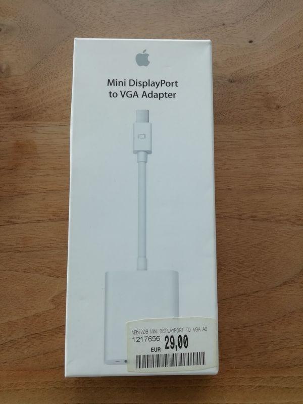 Apple Mini DisplayPort to VGA