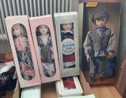 Porzellan Puppen Set