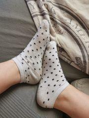 Getragene Socken Größe 37 38