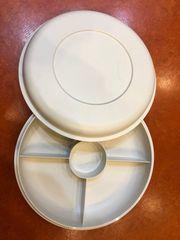 Tupperware Knabber- oder Rohkostrunde neuwertig