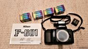 Nikon Spiegelreflexkamera AF F 601