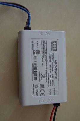 Lampen - Neu 1 LED Konstantstrom-Schaltnetzteil 350mA