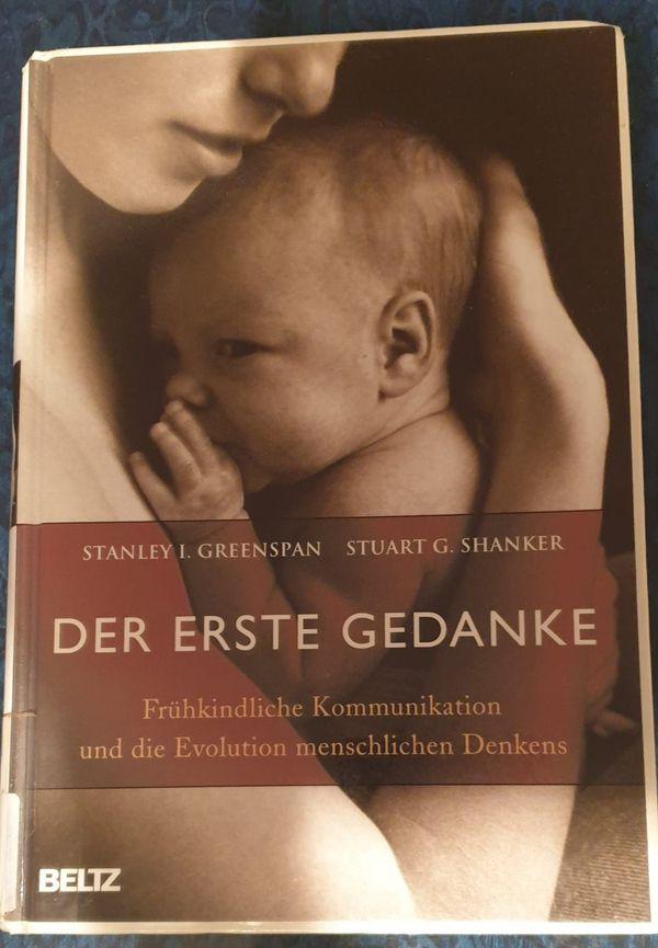 """Buch \""""Der erste Gedanke - Frühkindliche Kommunikation\"""", gebraucht"""