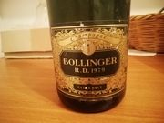 Champagner Bollinger R D 1979
