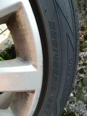 Kompletträder auf Alufelgen für Opel