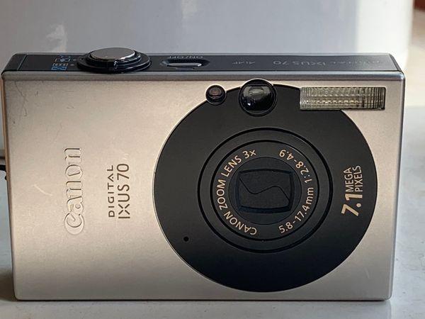 Defekte Canon Digital IXUS 70