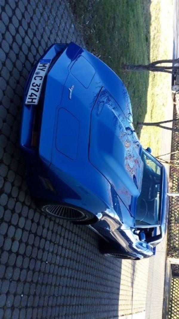 Corvette C3 mit H-Zulassung und