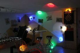 PA, Licht, Boxen - Lichteffekt Monster Beam ADJ neuwertig