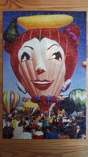 Foto Puzzle Unikat Heißluftballon Sommerfest