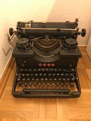 Alte antike Schreibmaschine Torpedo 6